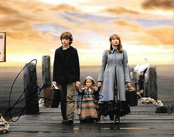 Gfa Series Of Unfortunate Events  Emily Browning  Signed 8x10 Photo Mh3 Coa
