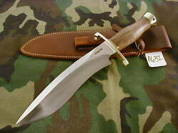 Randall Knife Knives Large Sasquatch719blhbl.-b.squilted Maplebbrwt A632