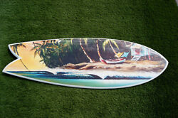 Decor Surfboard Easy Breeze Zoom - Wall Hanger Home And Office Decoration