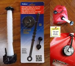 Old School Style Gas Can Spout And Parts Kit Midwest Scepter Igloo Eagle Moeller