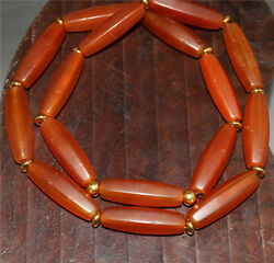 Tibetan ancient red agate carnelian necklace chain bracelet tibet antique rosary