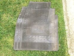 1960and039s Or 1970and039s Or 1980and039s Universal Clear Floor Mat Front