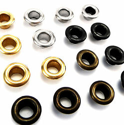 Solid Brass Grommets 8 Mm Inner Diameter Round Eyelets And Washers Banner Anb