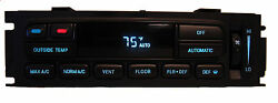 Newly Rebuilt Auto Climate Control Unit - 95-97 Town CarCrown VicGrand Marquis