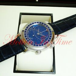 Patek Philippe 6102P-001 Sky Moon Celestial In Platinum 44mm with Date Complete