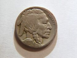 Wow 1921-s Key Date Buffalo Nickel, Great Must Have Coin For Every Collector