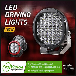 Led Work Lights 3x 185w Heavy Duty Cree 12/24v Brightest On The Market Today
