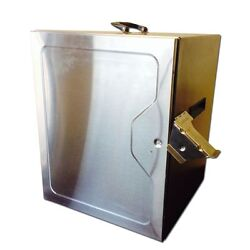 Food Warmer Bbq Smoker Pro Competion Contest Equipment Stainless Cabinet 120 V