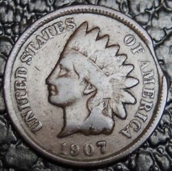 1907 Usa - One Cent - Error - Clipped Planchlet - Nice - Ncc Andnbsp