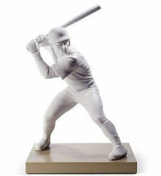 Lladro Porcelain Swing For The Fences 01008627
