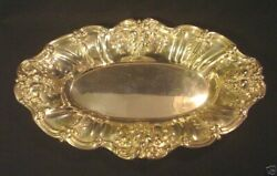 Reed And Barton Francis I Sterling Silver Oval Bread Tray X568