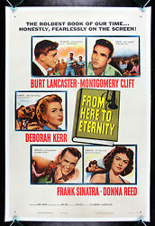 From Here To Eternity Cinemasterpieces 1953 Vintage Original Movie Poster