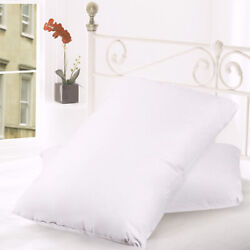 Feather amp; Down Blend Bed Pillows 100% Cotton Cover 2 Pack Queen King Standard