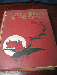 Mother Goose's Nursery Rhymes 1911 Illustrated Color Plates