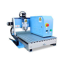 800w Cnc Router Water-cooling Spindle Engraving Machine 900mm600mm With Mach 3