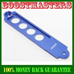 Blue Billet Battery Tie Down Bar For 2002-2006 Rsx High Quality Emusa