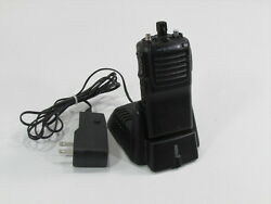 Vertex 2 Way Radio Vx-231-ad0b-5 Vhf With Charger And Adapter