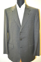 New Brioni Suit 100 Wool 42 Us 52 Eu Made In Italy F.