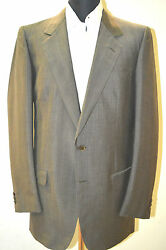 New Brioni Suit 60 Wool 40 Mohair 40 L Us 50 L Eu Made In Italy 2 Btn G.