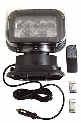 360 Degree 50w Cree Led Remote Control Search Light Lamp Boat Camping Magnetic
