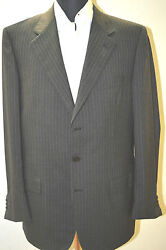 New Brioni Suit 100 Wool 41 Us 51 Eu Made In Italy M.