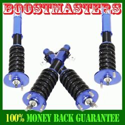 Full Coilover Struts Shock Absorbers Suspension Kit For 90-97 Honda Accord Blue