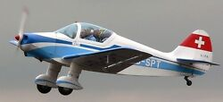 S-90 Sipa France Two Seat Private Airplane Wood Model Replica Large Freeshipping
