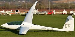 Discus 2 Schempp-hirth Glider Airplane Wood Model Replica Large Free Shipping