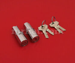 Mercedes 180 190 Ponton Push Button Cylinder Lock Set Early Style New