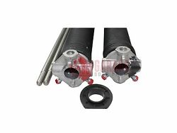 Pair Of .225 Garage Door Torsion Springs Any Length Up To 36 With Winding Bars