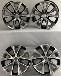 20 Inch 2014 2015 Dodge Durango Ram 1500 Truck Oem Black Alloy Wheel Rim 2496 B