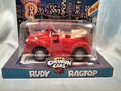 Chevron Cars Rudy Ragtop Red Convertible Eyes Move New