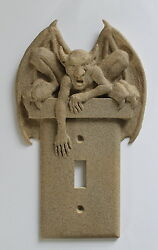 GARGOYLE light switch plate wall cover toggle goth gothic outlet decor