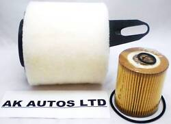 For Bmw 3 Series 320i Si E90 Berlina 05 2pc Service Parts Oil And Air Filter Kit