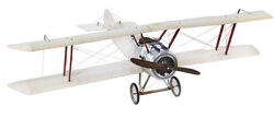 Large Sopwith Camel Biplane Aircraft Collectible Airplane Model Ap502t New
