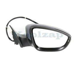 09-12 Vw Passat Cc Mirror Power Folding Heated W/memory And Turn Signal Right Side