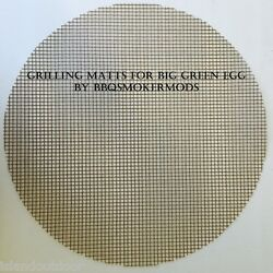 Grilling Mat Big Green Egg Kamado Large Size Bbq Smoker Grill Surface Topper 18