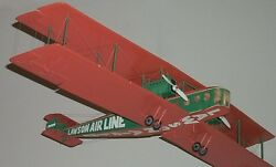 L-2 Lawson Airline Usa L2 Light Airplane Wood Model Replica Small Free Shipping