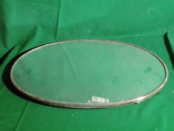 ANTIQUE MIRROR PLATEAUX SILVER PLATED, FRENCH ANTIQUE C 1850, ORIGINAL MIRROR