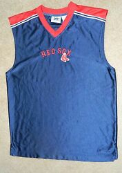 Vintage Lee Sport Boston Red Sox Stitched Basketball Jersey, Sz. S