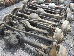 Military M35 Rockwell 2.5 Ton Top Loader Complete Front Axle Used