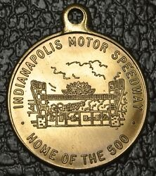 Indianapolis Motor Speedway Fob Token Key Tag - Home Of The 500 - Racing Car