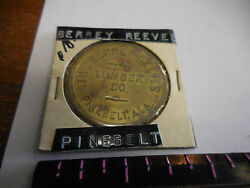 Rare R-10 The Berry-reeves Lumber Co. Pinebeltala.two Dollar Token