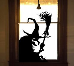 Wicked Witch #11 Halloween Wall or Window Decal