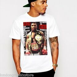 New Mike Tyson T-shirt Boxing SZ S-2XL cotton Tank top boxer Iron Mike