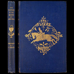 1859 Signed 1st Fox Hunting Horses Hounds John Mills Rare Harry Worcester Smith