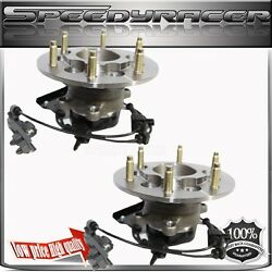 Two Front Wheel Hub And Bearing Assembly For 2004-08 Chevy Colorado 515110