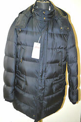 New Brioni Blue Quilted Down Jacket Coat Water Repellent Size 2xl Us 56 Eu