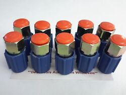10 Pcs A/c Ac Low Side Port Auto. Air Conditioning Retrofits/ Adapters/fittings