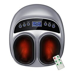 Cordless Smart Shiatsu Kneading Neck And Back Massager With Heat-car/office/chair